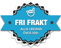 Badge med fri frakt på Boardlife