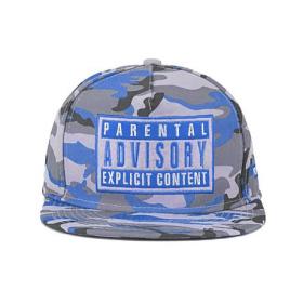 Keps - Camo/Blue Parental Advisory