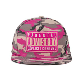 Keps - Camo/Pink Parental Advisory