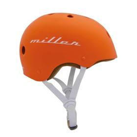 Miller Division Pro Helmet Orange - Side