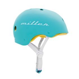 Miller Division Pro Helmet Turquoise - Side