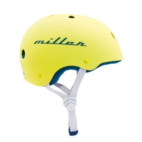 Miller Division Pro Helmet Yellow - Side